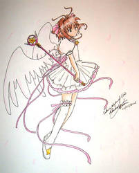 Sakura, Master of Clow by kiuuri