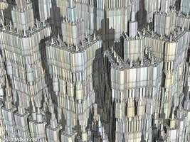 Sierpinski Towers by MakinMagic