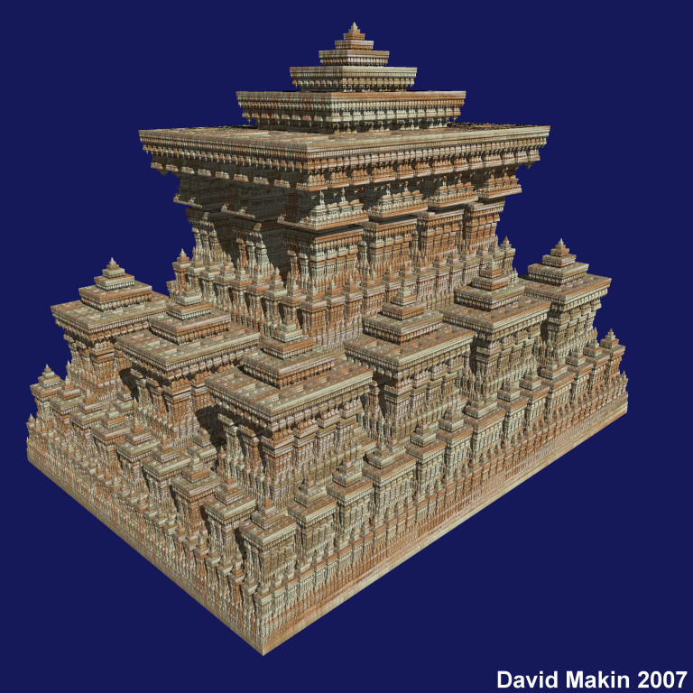 Sierpinski Temple by MakinMagic