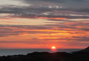 Sunset at Sea by MakinMagic