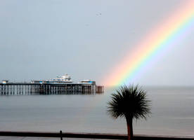 Llandudno rainbow (left zoom) by MakinMagic