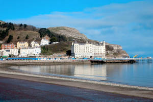The Great Orme and Llandudno Pier by MakinMagic
