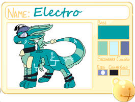 .:Electro:. by NightWolfDragon