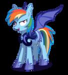 Rainbow Dash Lunar Guard by pondis-dant