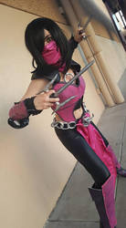 Mortal Kombat Mileena Cosplay by KathytheGoth