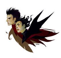 Emo Bats by JenZee