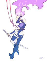 Psylocke by JenZee