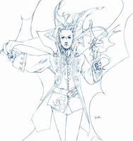 Alucard - Full Pencils by JenZee