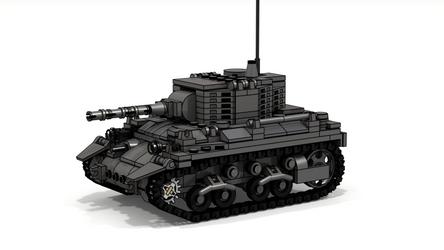 M7 Medium Tank by NeyoWargear