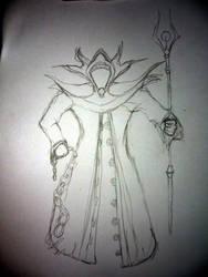 Mage Pencil's Concept Art by Fuckner