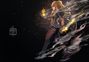 RWBY - Flame of Fury by anonamos701
