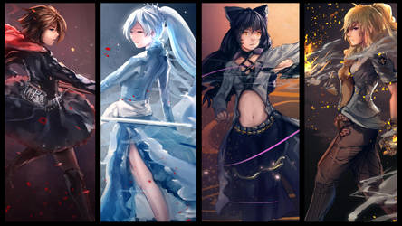 RWBY - Volume 4 Compilation by anonamos701