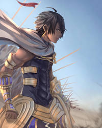 Fate/Grand Order - Ozymandias by anonamos701