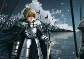 Fate/Stay Night - Saber by anonamos701
