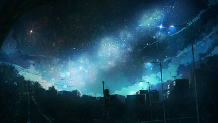 Arclight of the Sky by anonamos701