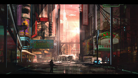 Kowloon City by anonamos701