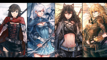 RWBY - Volume 6 Compliation by anonamos701
