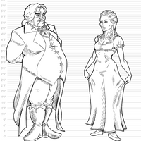 Lord Briarthorn and Lady Hastings by KingVego