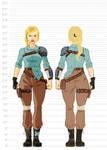 Fallout Cascadia Concept Art - Lilly by KingVego