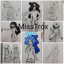 So much Wips by MissTrox
