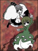 Futo and Tojiko by Genkidown
