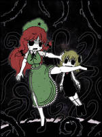 Meiling and Rumia by Genkidown