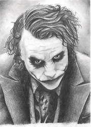Heath Ledger's Joker by Skittle010