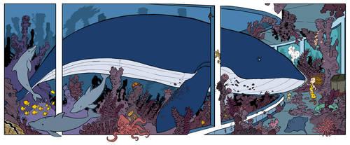 new print 16x38 whale flats 3 by travisJhanson