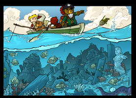 Treasure Hunters 3 fini- by travisJhanson