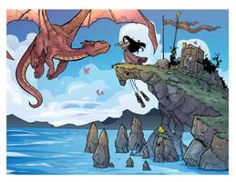 The Dragon Tamer by travisJhanson