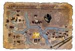 Map of the Underground by travisJhanson