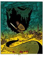 The Dragon Hunt by travisJhanson