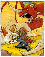the Dragon Slayer by travisJhanson