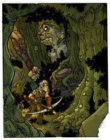 the Elf hunt by travisJhanson