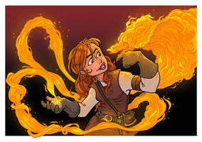 My Pet Phoenix by travisJhanson