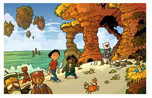 the landing- treasure hunt page 4 by travisJhanson