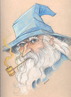 Gandalf the Grey- Lotr by travisJhanson