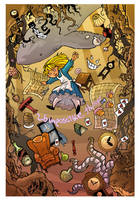 Alice in wonderland by travisJhanson