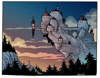 Cliff Castle by travisJhanson
