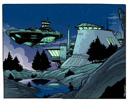 The starship by travisJhanson