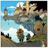 A trip to the castle by travisJhanson