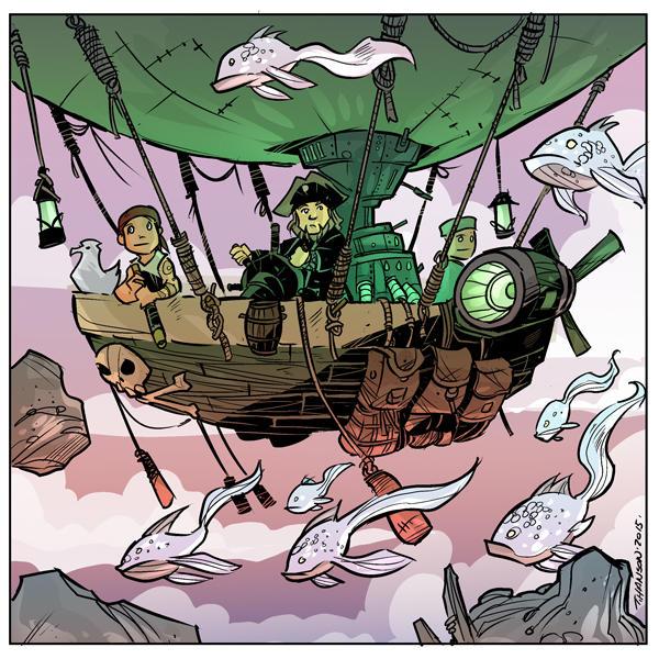 Sailing the skies with flygin fish by travisJhanson