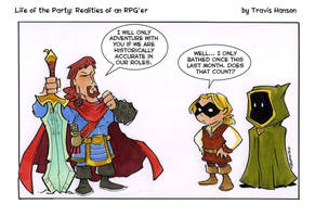 Historically accurate rpging ... rpg comic  by travisJhanson