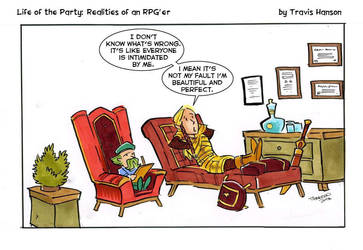 It's all about the elves ... rpg comic by travisJhanson