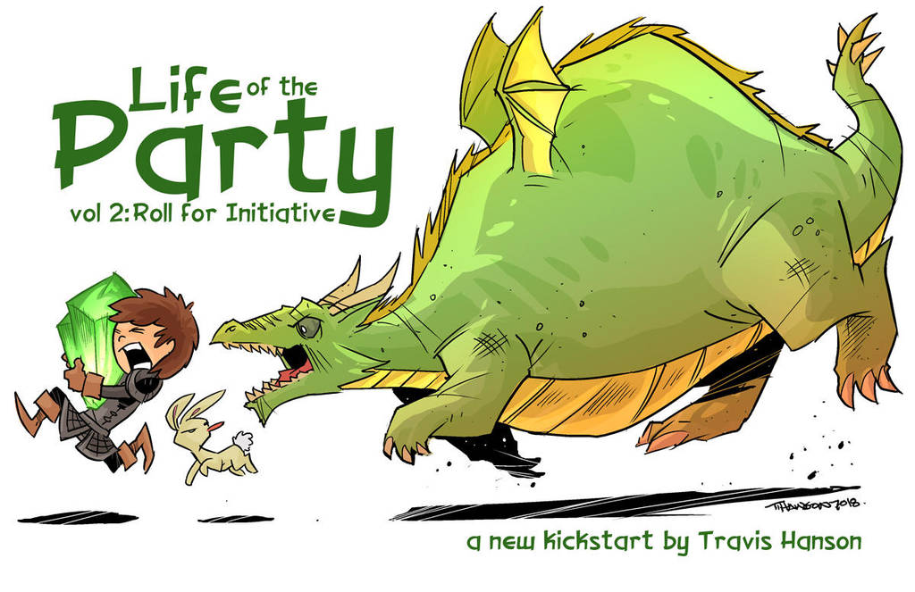 The dragon Chase by travisJhanson