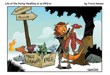 Free dragons by travisJhanson