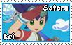 .:Satoru-Kei:. Stamp by Kris-the-Nintengirl