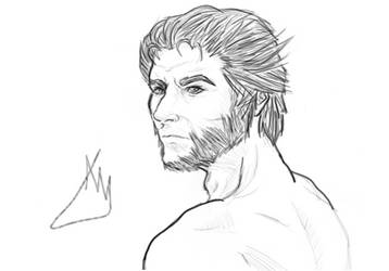 Wolverine Sketch by alexee29