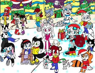 Merry Christmas 2012 by FrostTheHobidon