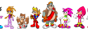 Mobius Universe: Freedom Fighters (Satam) by FrostTheHobidon